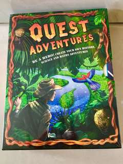 Brand New Quest Adventures Collection (12 books in slipcase)