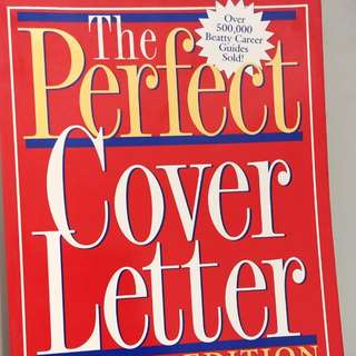 The prefect cover letter