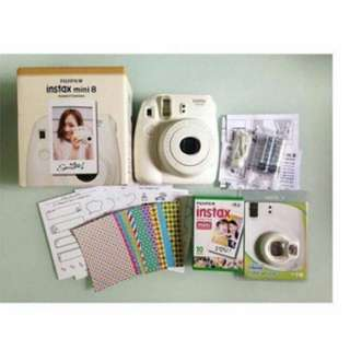 Instax Mini8 in White