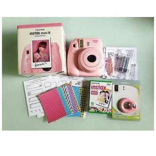 Instax Mini8 in Pink