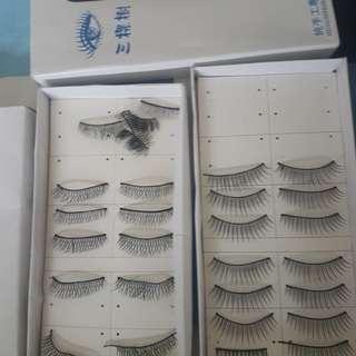 Cute natural eye lashes