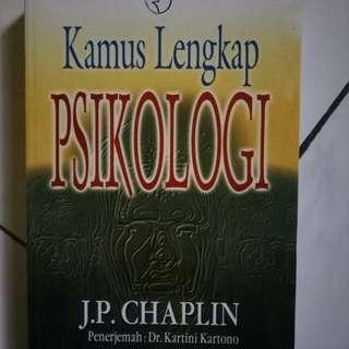 Kamus Lengkap Psikologi - JP.Chaplin