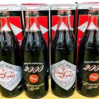 日本2000年可樂紀念樽一支