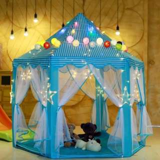 BN Beautiful Canopy/Tent (Incl Star & ball lights, and 2 mats!!!!)
