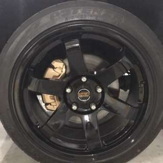Rims & Calipers package! Today PROMO! PM for PROMO