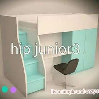 Hip Junior 3, tempat tidur anak ke kinian