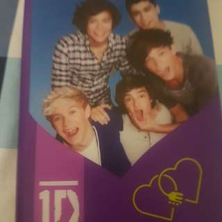 Light up one direction notebook