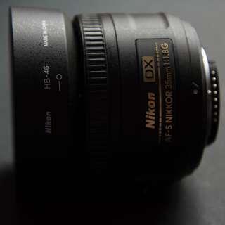 Versatile Nikkor 35 mm f/1.8 Autofocus lens