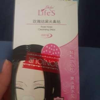 Black head remover strips