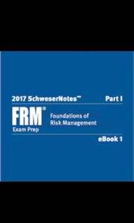 2017 FRM Schweser Study Notes + GARP (Part 1)