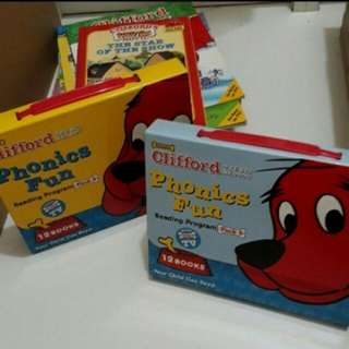 Clifford Books & Phonics Boxed Set