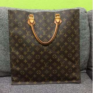 LV Monogram Sac Plat Tote Bag