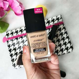Wet n Wild Photofocus Foundation in Buff Bisque