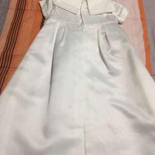 Baptismal gown for boys 3 mos