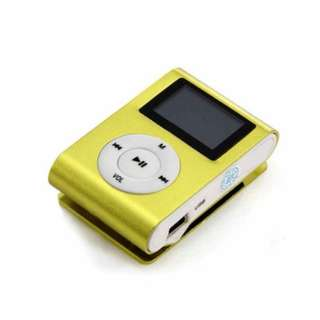 Mini Clip 8G MP3 Music Player With USB Cable & Earphone GREEN SKU: V28-ELEVMXMP38GBGN