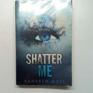 Shatter Me Trilogy by Tahereh Mafi