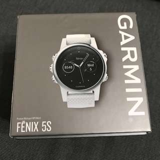 Garmin Fenix 5s 42mm Carrara White
