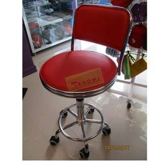 DC-823G DRAFTING STOOL (RED)--KHOMI