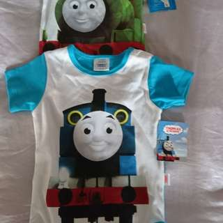 Thomas and train rompers