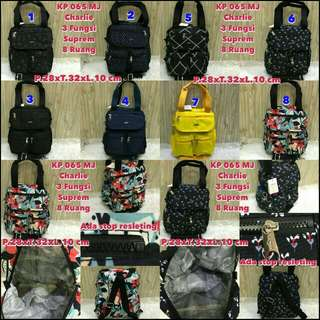 Kp 065 MJ suprem , Tas Kipling 3in1 , @145rb