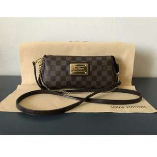 Authentic Louis Vuitton Eva Clutch