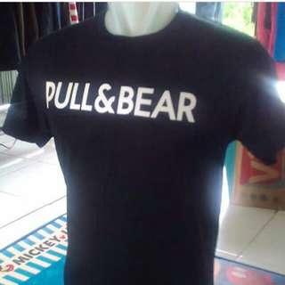 Pull&Bear tulisan putih size L
