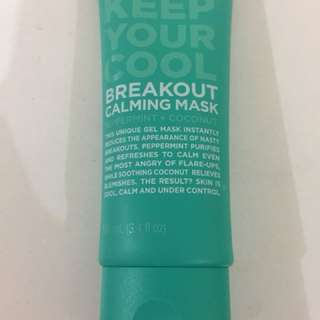 Breakout calming mask