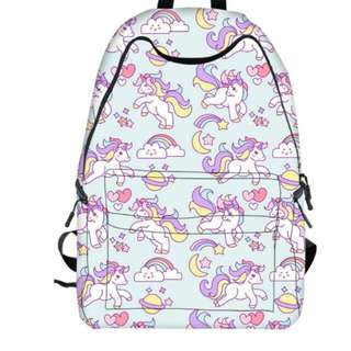 Back to school! Unicorn backpack