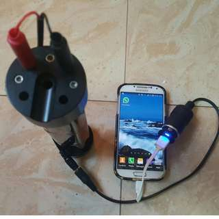 Canister lights battery/Battery pack Charger.