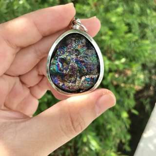 7 colour rainbow leklai pendant