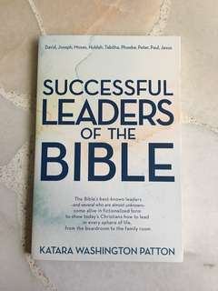 Christian Book: Successful Leaders Of The Bible