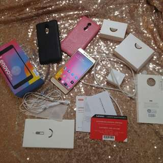 16mp Lenovo K6 Note Gold Phone Complete