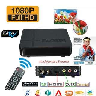 MediaCorp Digital TV Tuner Receiver Set Top Box (DVB-T2)