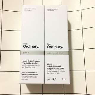 [現貨]The Ordinary 100% Cold-Pressed Virgin Marula Oil