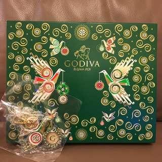 Godiva 朱古力禮盒 (25粒裝) 附匙扣