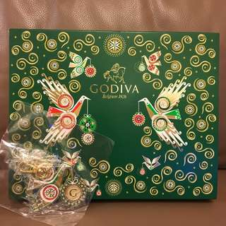 Godiva chocolate (25pieces) with keychain