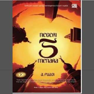 Novel negeri 5 menara ebook
