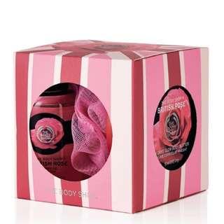 British Rose Treats Cube Gift Set