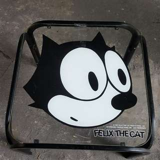 felix the cat glass table