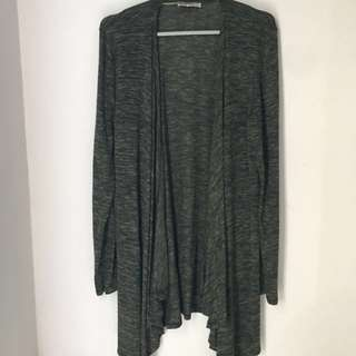Bershka green outer