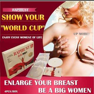 1+1 Rapibust breast enhancement enlargement mask