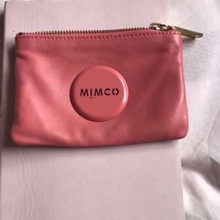Authentic mimco small pouch