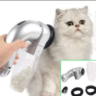 Pet Hair Remover Cordless Dog cat vacuum fur grooming brush device