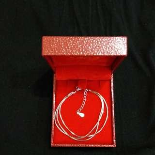全新 S925 純銀 Sterling Silver 銀鏈 layers 手鏈 Bracelet