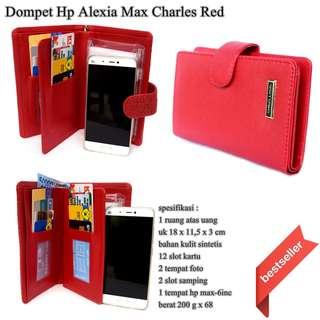 Dompet Hp Murah Branded Alexia Max Charles merah