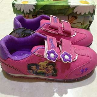 Sepatu anak DISNEY FAIRIES TINKERBELL sneaker girl shoes