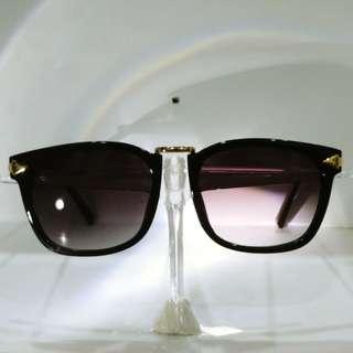 Classy Purple Tinted Golden Sunshades