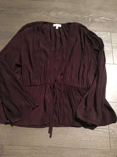 Wilfred size L Shanina Blouse