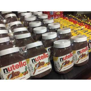 Selling Chocolates fresh from US (Nutella950g/Hersheys/M&Ms/Milkyway/Snickers/Chips a Hoy
