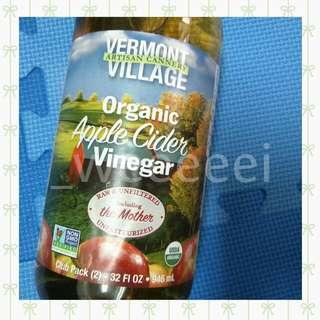 Vermont Village 有機蘋果醋 946ml